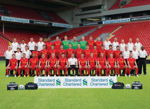LFC Squad Wallpaper 2012-13