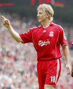 Dirk Kuyt scored twice against Wigan