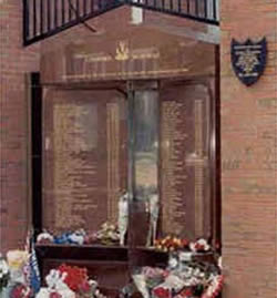 Eternal Flame at Anfield