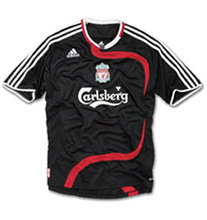 The new Liverpool FC European Shirt