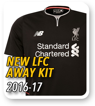 Official LFC Away Kit 2016/17