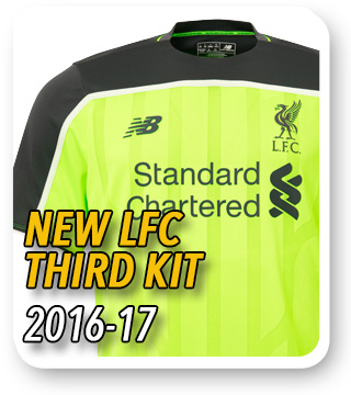 Official LFC Third Kit 2016/17