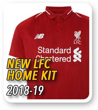 NEW LIVERPOOL FC SHIRTS AND KITS - Official Liverpool FC kit and ... 9a4b68ce9