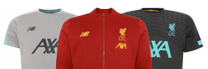 New LFC Training Clothing and Shirts 2019-20