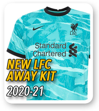 Official LFC Away Kit 2020/21