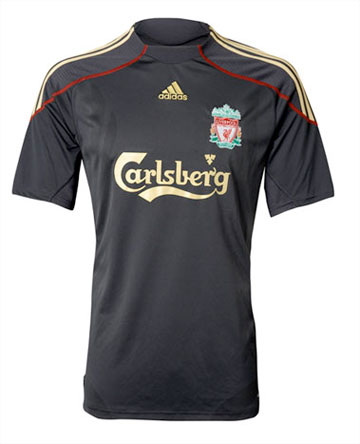 fbfd6e9ad ... Liverpool FC Away Shirt for 2009/10. Further ...