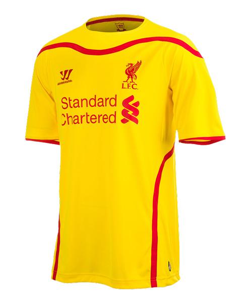 Liverpool Kit History 14: NEW LIVERPOOL FC SHIRTS AND KITS