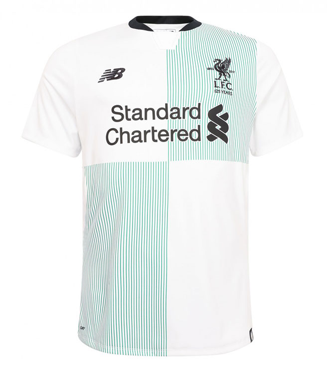 New Liverpool Fc Tujuh Delapan Away Shirt And Kit New Official