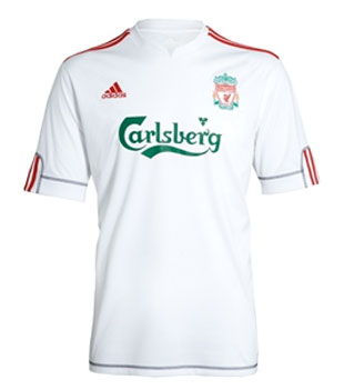 c7127af2a Liverpool FC new European Away/3rd Kit 09-10. Thu 16th Jul 2009 | Anfield  Online