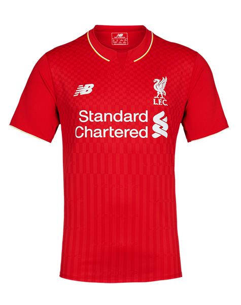 New Liverpool Home Shirt 2015-16