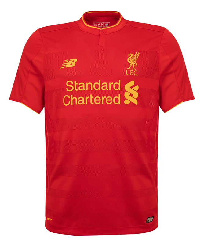 New Liverpool Home Shirt 2016-17