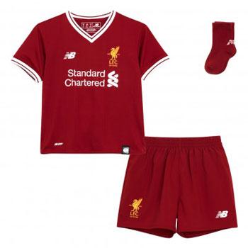 LFC Home 17-18 Baby Kit