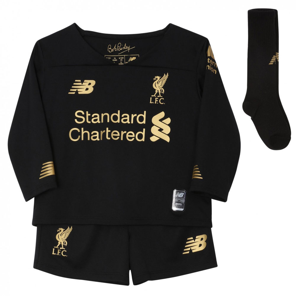 LFC Home Goalkeeper Kids Kit