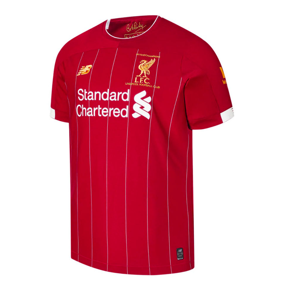 LIMITED EDITION: Home Shirt - Champions Inscribed LFC Kit