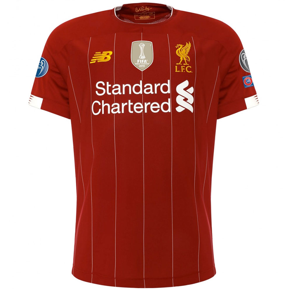 LIMITED EDITION: Home Shirt - World Champions LFC Kit