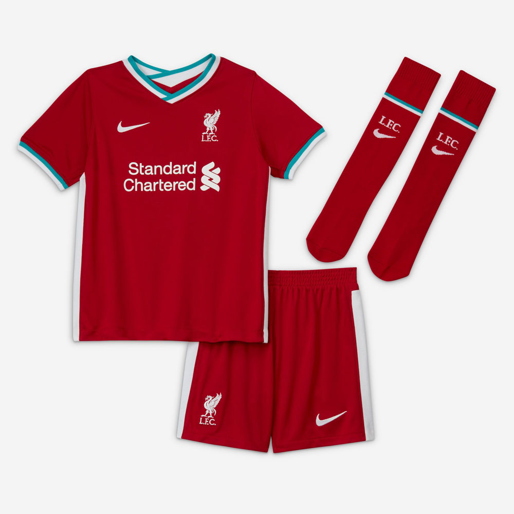 LFC Young Kids Home Kit 2020-21
