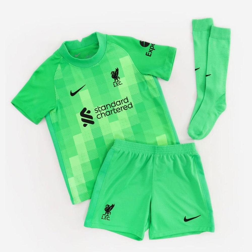 LFC Home Goalkeeper Kids Kit
