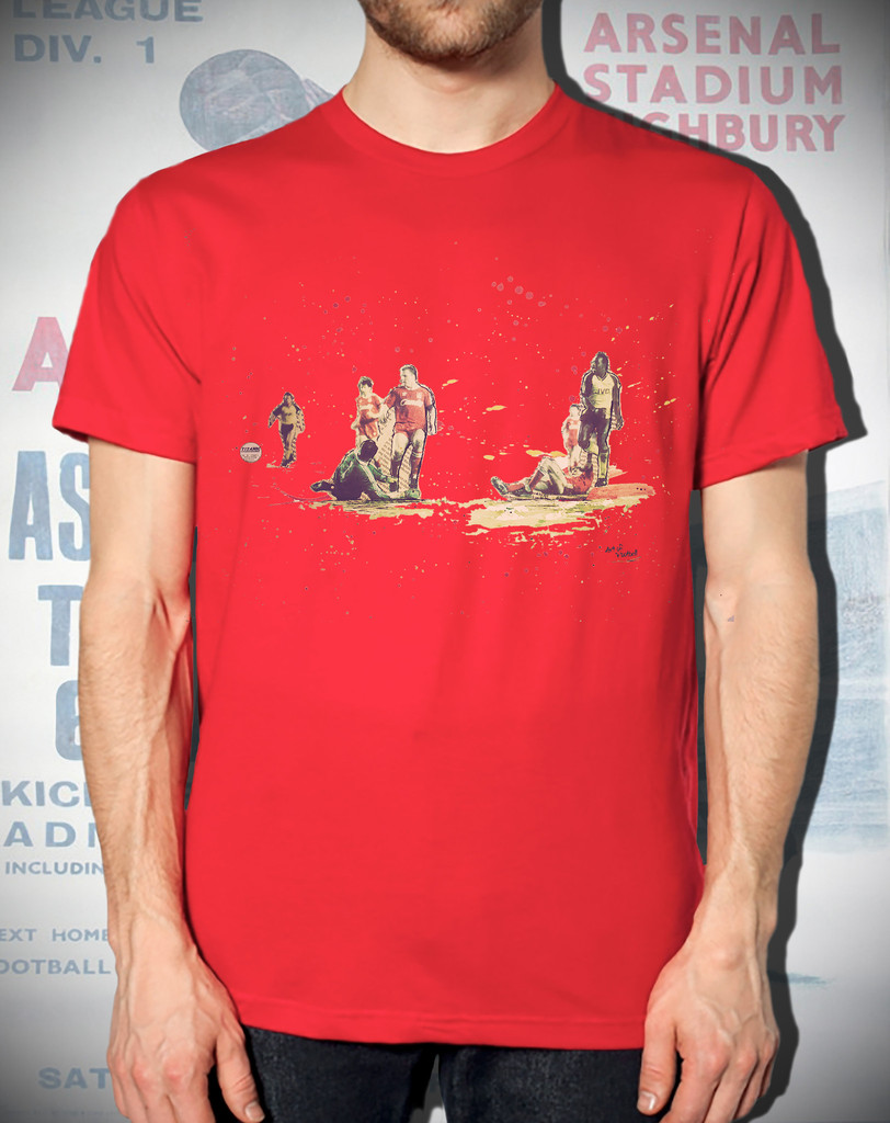 Art of Football - Unbelievable! - Red Tee