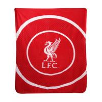 Liverpool FC Bullseye Fleece Blanket