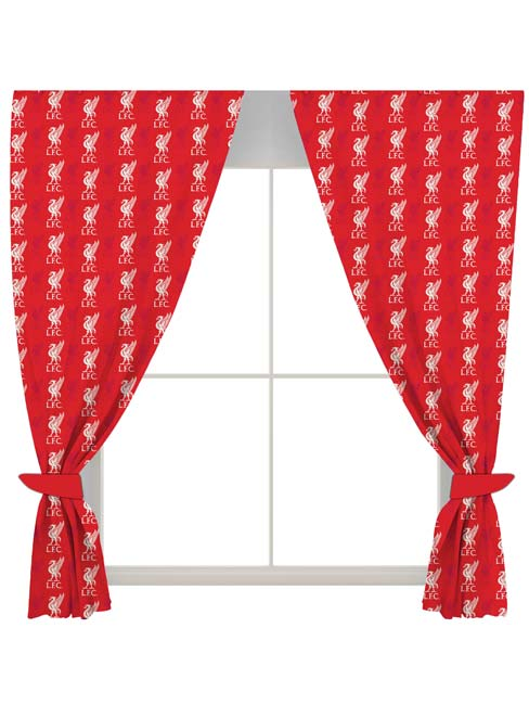 Liverpool FC Crest Curtains