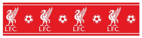 Liverpool FC Self Adhesive Wallpaper Border 5m