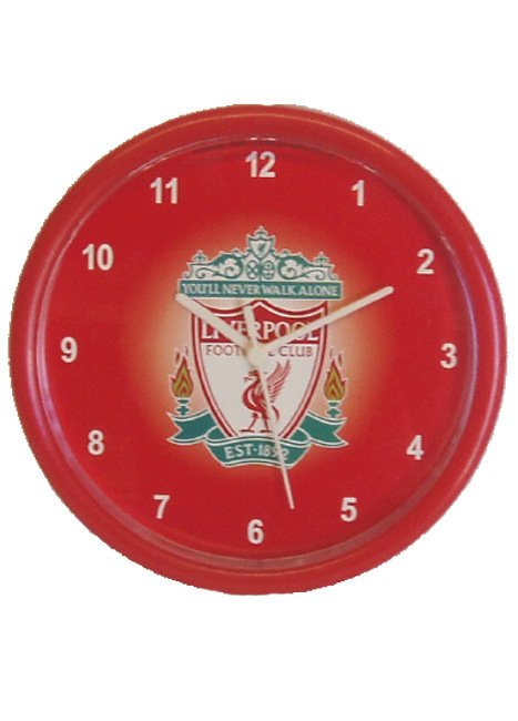 Liverpool FC Bullseye Wall Clock