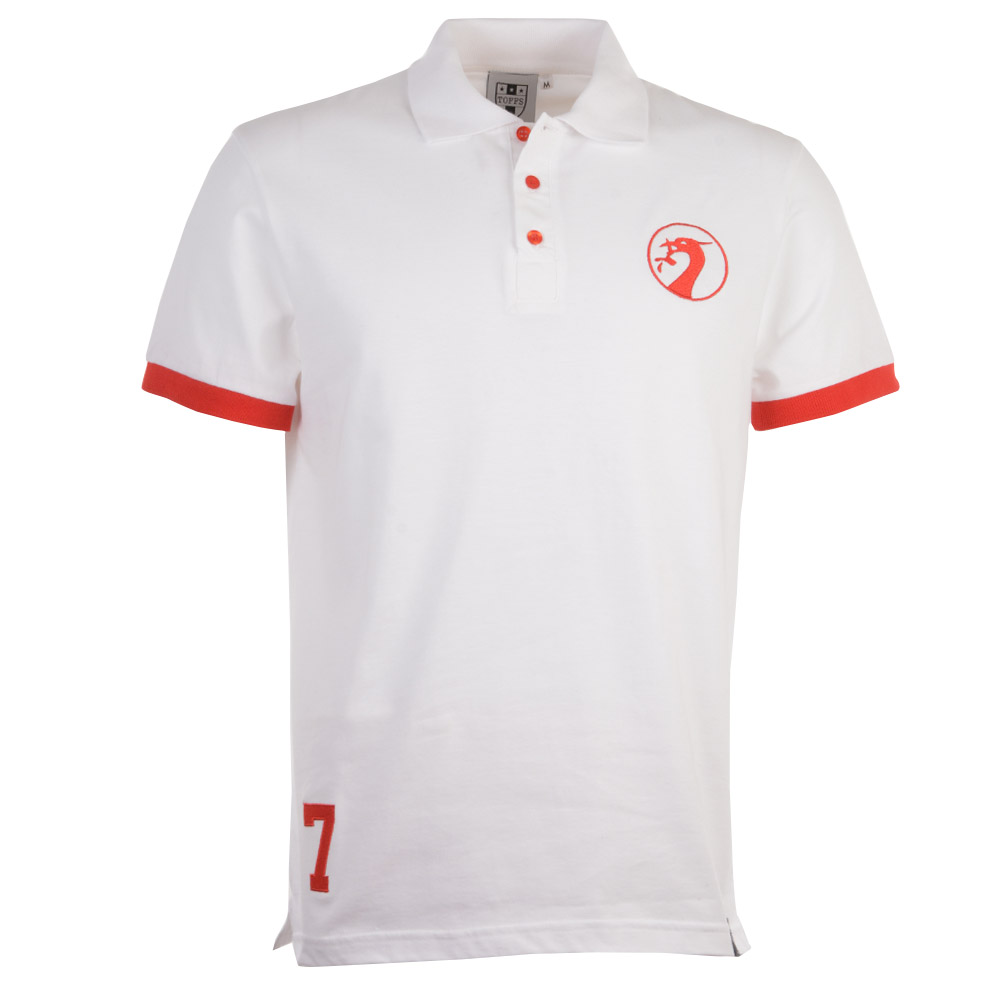 Liverpool Polo - White / Red