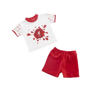 LFC Baby Uni Tee and Shorts