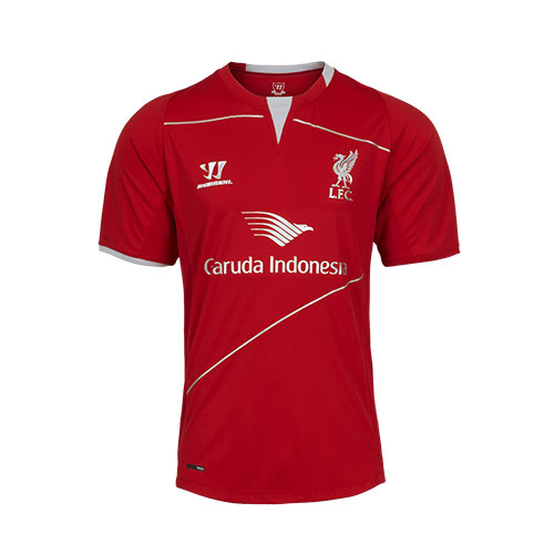 Liverpool FC Red Infant Sh Sleeve Training Top