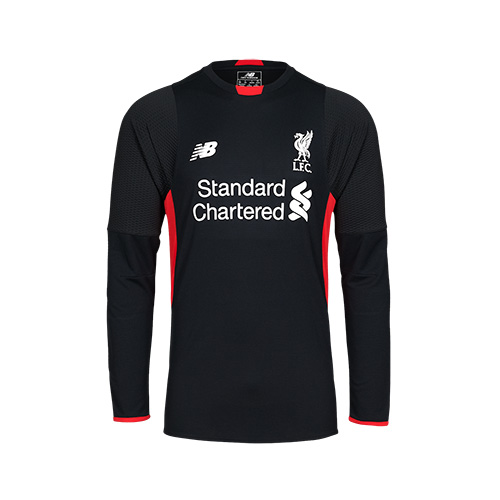 LFC Kids Long Sleeve Home Goalkeeper Shirt 15/16