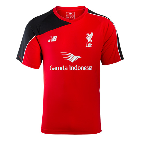 LFC Mens Red S/S Player Training Jersey 15/16