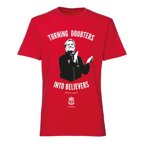 Jurgen Klopp T-shirt Believers