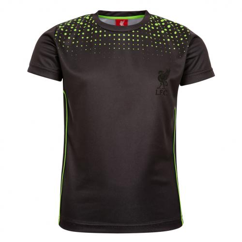 LFC Boys Black Sport Dot Tee