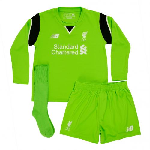 LFC Home Infant Goalkeeper Kit 16/17