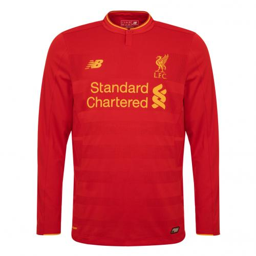 LFC Kids Long Sleeve Home Shirt 16/17