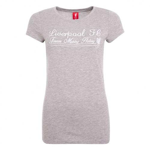 LFC Ladies Grey Making History Tee