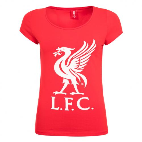 LFC Ladies Red Liverbird Tee