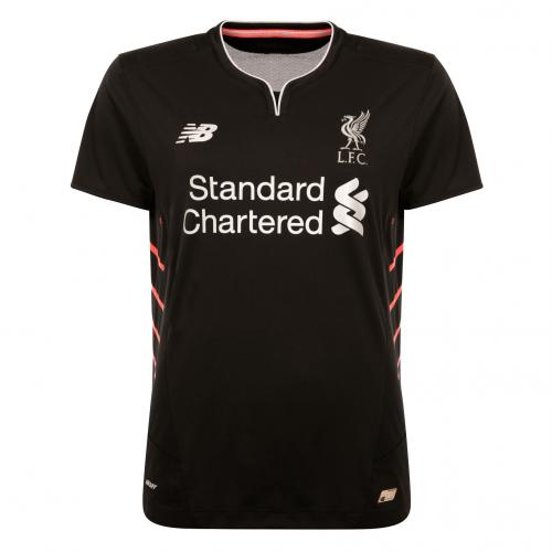 LFC Ladies Short Sleeve Away Shirt 16/17