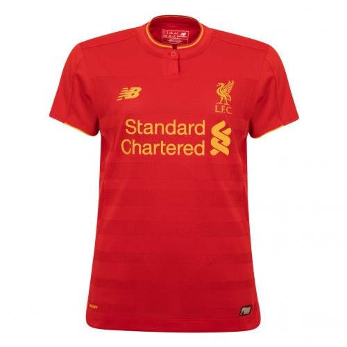 LFC Ladies Short Sleeve Home Shirt 16/17