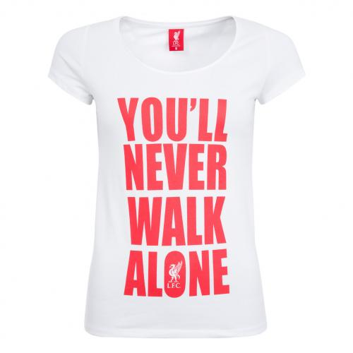 LFC Ladies White YNWA Tee