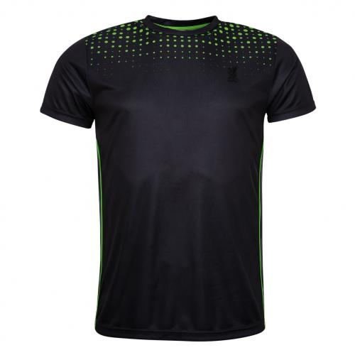 LFC Mens Black Neon Dot Tee