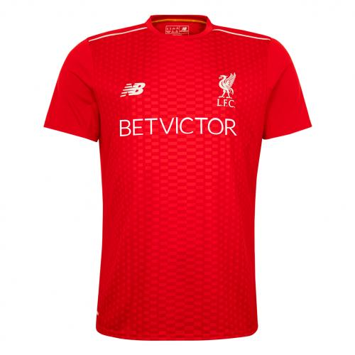 Liverpool Home Pre Match Players T-Shirt