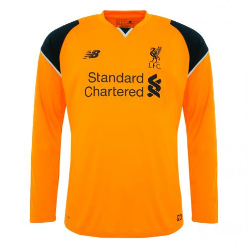 LFC Mens Long Sleeve Away Goalkeeper Shirt 16/17