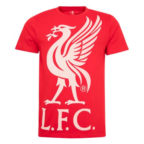 LFC Mens Red Liverbird Tee