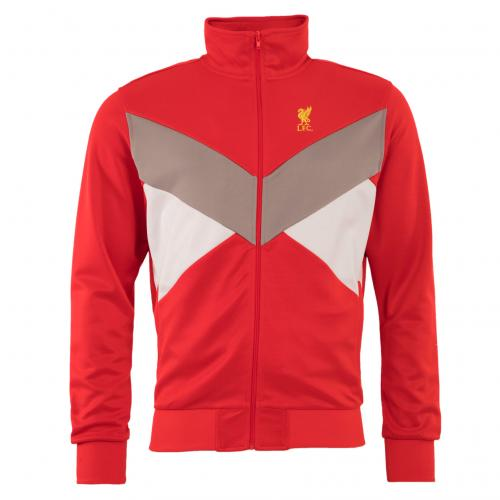 LFC Mens Red Tricot Jacket