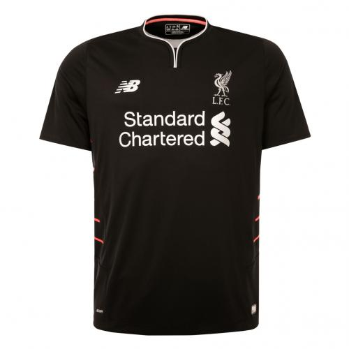 LFC Mens Short Sleeve Away Shirt 16/17