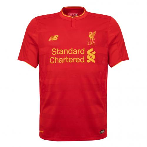 LFC Mens Short Sleeve Home Shirt 16/17