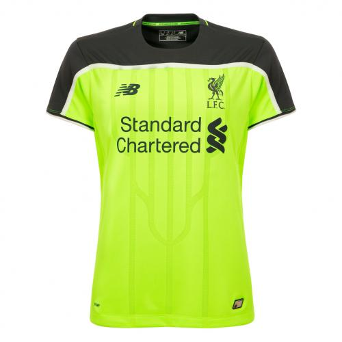 LFC Ladies Short Sleeve Third Shirt 16/17