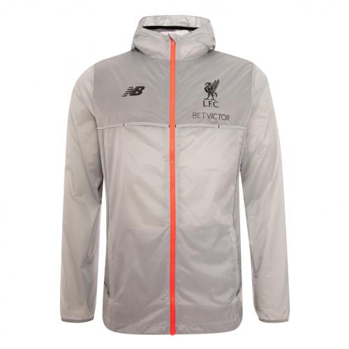 Elite LFC Grey Zip-Up Training Jacket