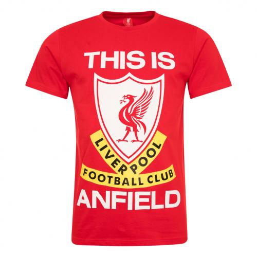 This is Anfield - Mens Red LFC T-Shirt
